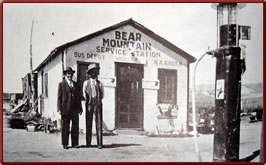 Wyoming State History - Original Bear Mountain Station