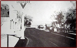 Wyoming State History - Paving Main Street in LaGrange in 1977
